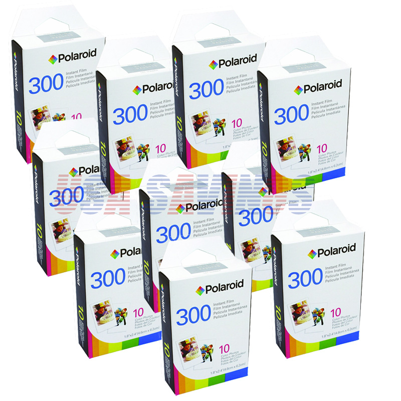 polaroid 300 camera instant film 10 pack 100 films ebay. Black Bedroom Furniture Sets. Home Design Ideas