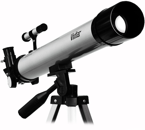 how to set up a refractor telescope