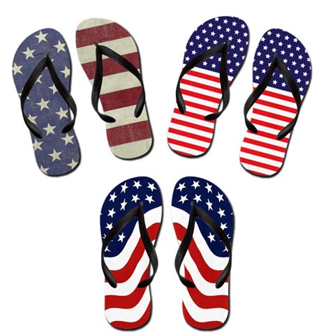 USA-Flag-Flip-Flops-for-4th-of-July