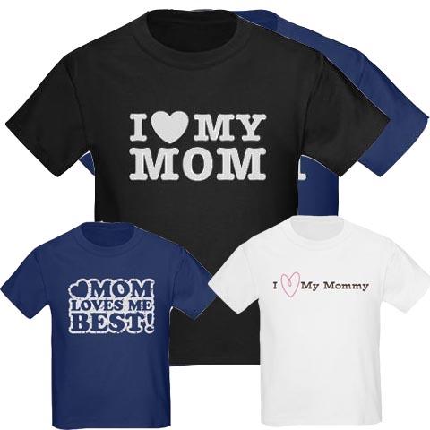 I-Love-Mommy-Kids-T-Shirts