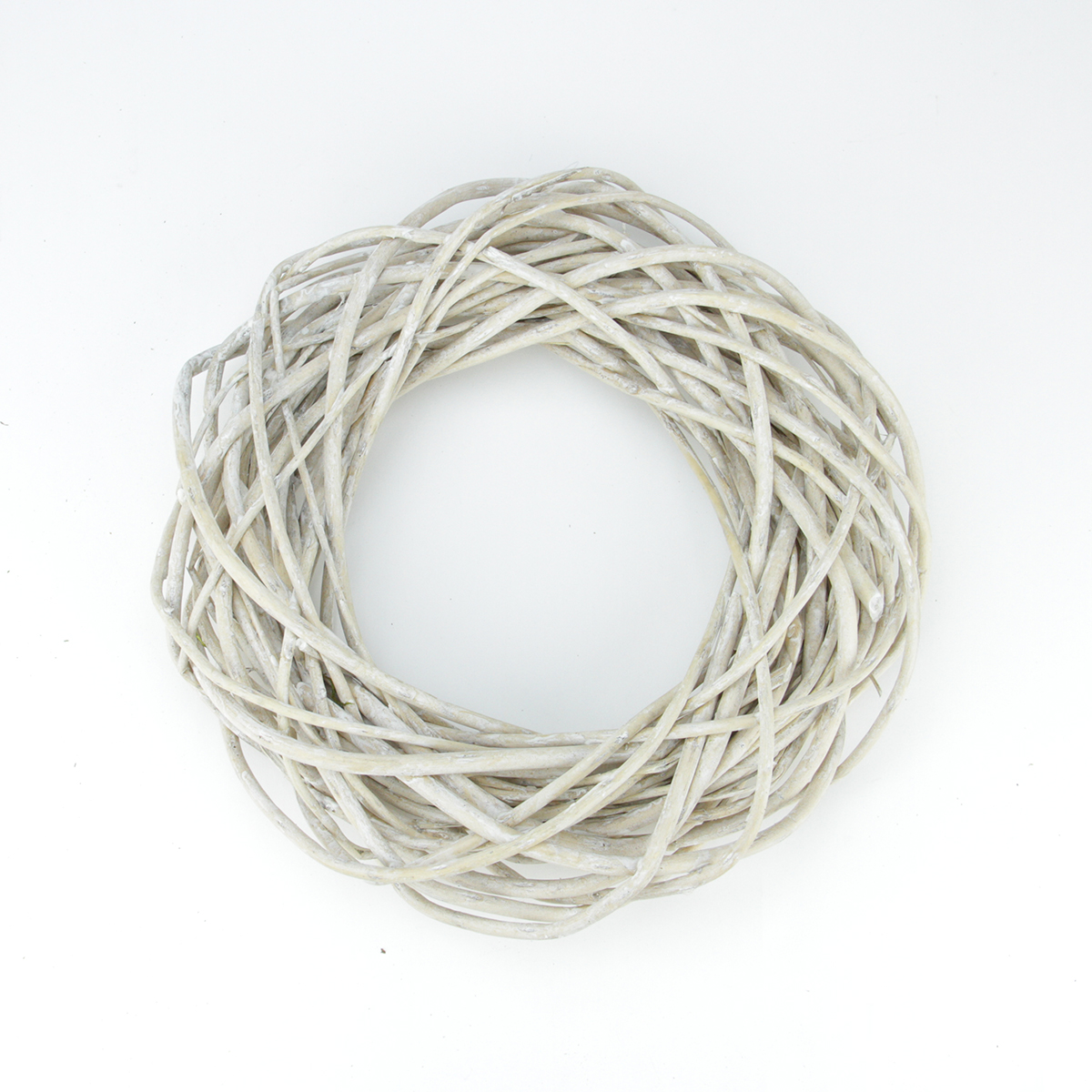 12 quot white pealed weeping willow branches artificial spring wreath