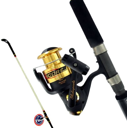 Shakespeare ugly stik 7 039 saltwater fishing rod amp reel for Saltwater fishing rods and reels combos