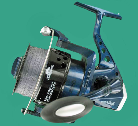 Tsunami shock wave pro 750 saltwater fishing reel 25lb 200yds for Tsunami fishing reels