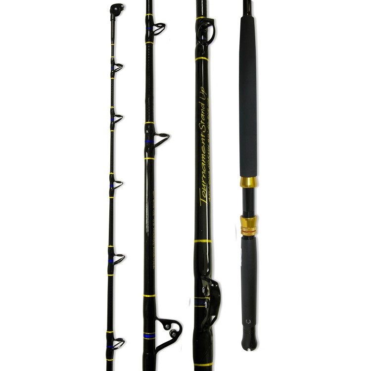 ande stand up fishing rod slick butt 50 80 lb 6 39 asu 601asbh