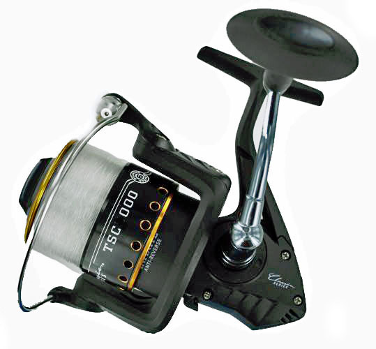 Tsunami classic salt water spinning reel 6 bearings tsc for Tsunami fishing reels