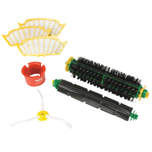 iRobot 82401 500 Series Vacuum Cleaning Heads Replenish Kit - Red & Green at Sears.com