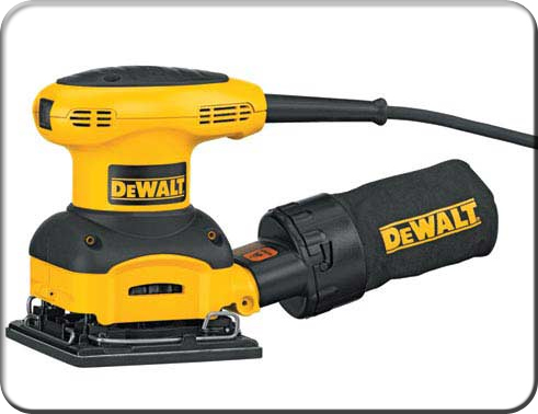DeWALT D26441 1/4 Sheet Heavy-Duty Palm Grip Sander Sanding Tool - Electric at Sears.com