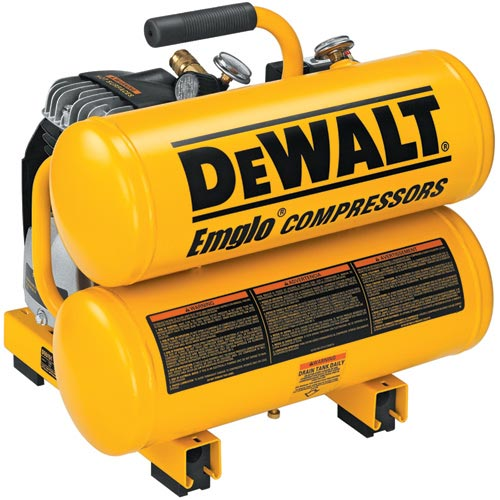 DeWALT D55151 2 1/2 HP 4 Gallon 100 PSI Electric Air Tool Compressor at Sears.com