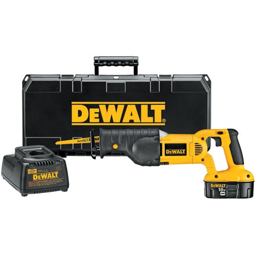 DeWALT DC385K 18V Cordless Reciprocating Recip Saw Sawzall Tool Kit - DC385 at Sears.com