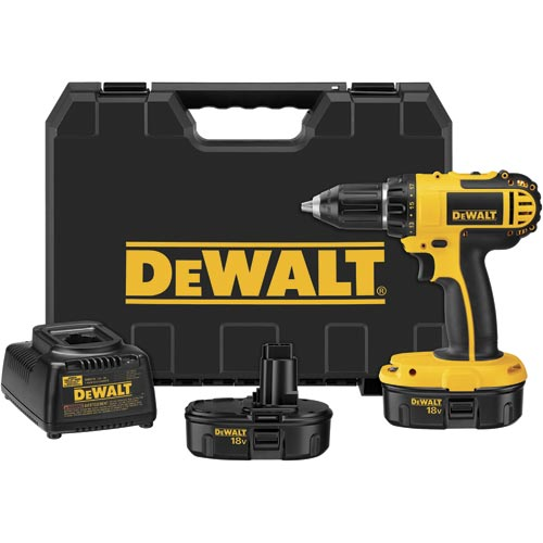 "DEWALT RECON DeWALT DC720KAR 1/2"" 18V Compact Drill Driver Kit 18 Volt (Reconditioned DC720KA at Sears.com"