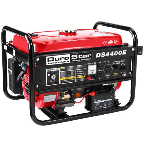 Portable Rv Generators : Durostar watt quiet portable electric start rv gas