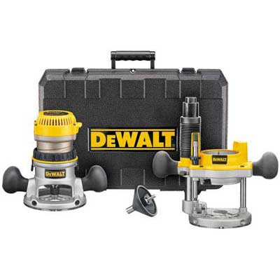 DeWALT DW616PK 1-3/4 HP Fixed Base Plunge Router Woodworking Tool Kit at Sears.com