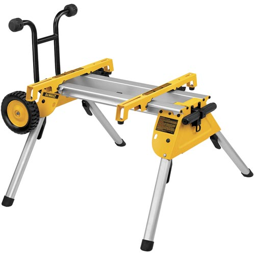 DeWalt DW7440RS Heavy Duty Rolling Job Site Table Saw Stand - Portable DW744 at Sears.com