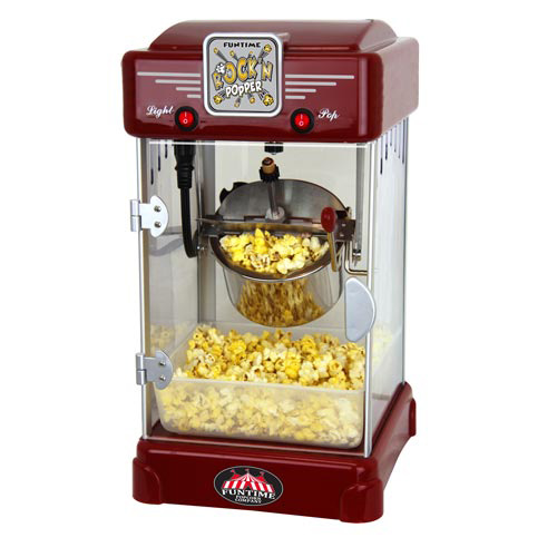 FunTime 2.5oz Rock'N Popper Popcorn Machine Maker Retro Style - FT2518 at Sears.com