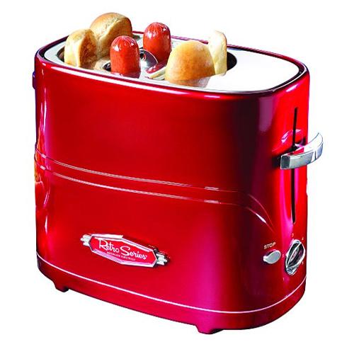 Nostalgia Electrics HDT-600 Retro Hot Dog Hotdog Pop-up Toaster Cooker ...