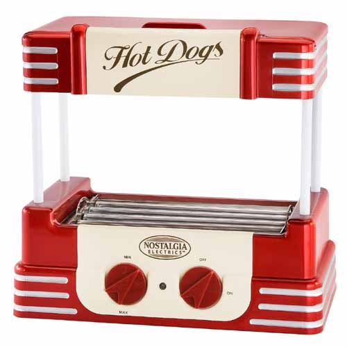 Nostalgia RHD-800 Retro Hot-Dog Roller Warmer Cooker Machine at Sears.com