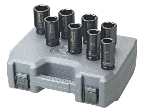 Ingersoll Rand SK6H8L 8-Piece SAE Deep Impact Sockets at Sears.com