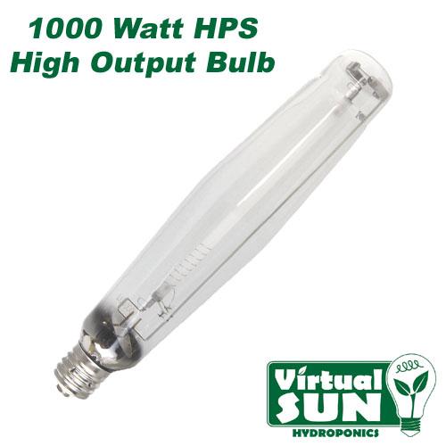 1000 watt hps high pressure sodium grow light bulb ebay. Black Bedroom Furniture Sets. Home Design Ideas
