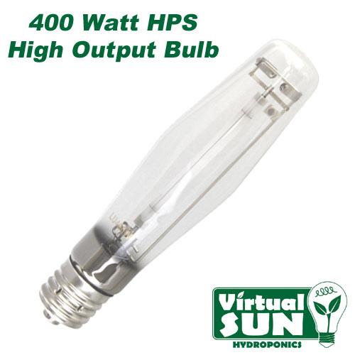 virtual sun 400w hps high pressure sodium grow lamp light. Black Bedroom Furniture Sets. Home Design Ideas