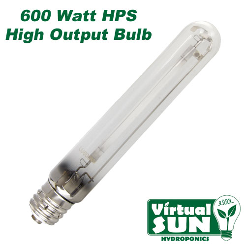 Virtual Sun 600w Hps High Pressure Sodium Grow Lamp Light
