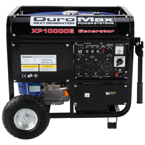 Duro Max DuroMax XP10000E 10,000 Watt 16 HP OHV 4-Cycle Gas Powered ...