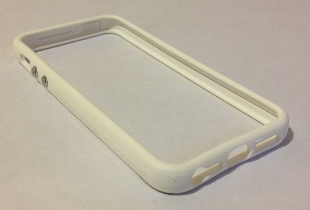 Arrowsac iPhone 5 Bumper Case with Hard Frame - White at Sears.com