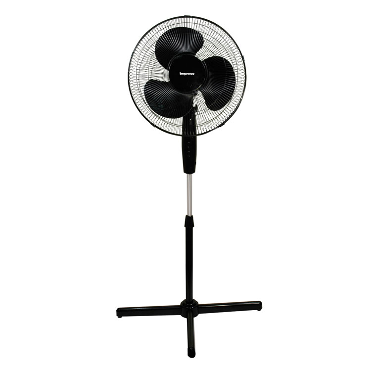 Impress 16 Inch Oscillating 3 Speeds Stand Fan IM-717B at Sears.com