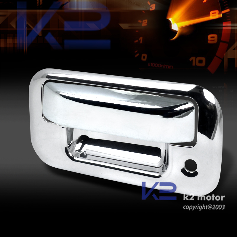 04-12 Ford F150 Chrome Tailgate Door Handle Cover F250