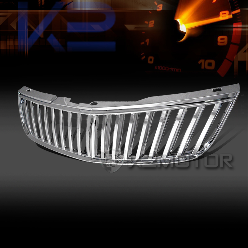 2000 2005 chevy impala vertical grill grille chrome
