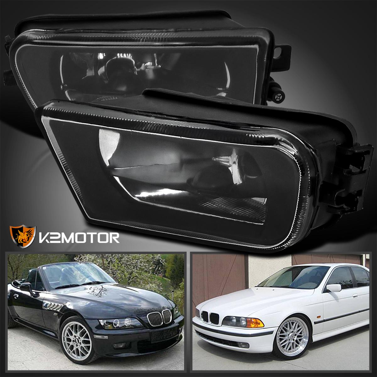 Bmw Z3 1997: 97-00 BMW E39 528i 540i 1997-2001 Z3 Black Clear Fog