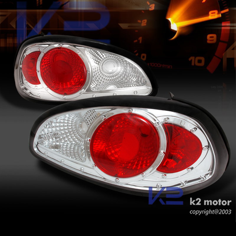 97 03 grand prix chrome dual halo led projector headlights clear tail lamps ebay. Black Bedroom Furniture Sets. Home Design Ideas