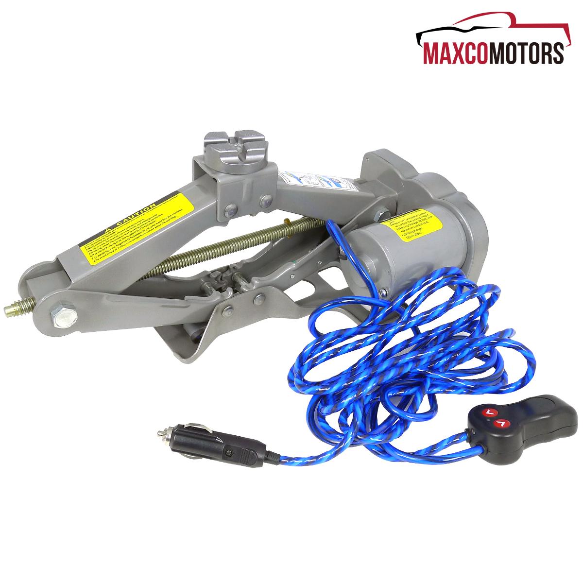 Electric Lift Kits : Electric car truck scissor jack lift wrench kit dc