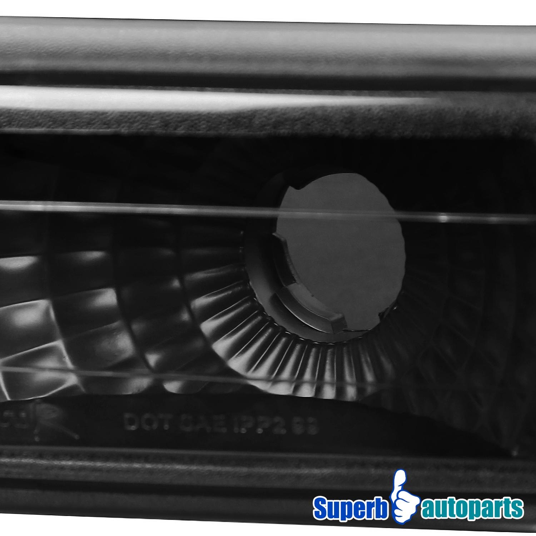 1999 2002 silverado halo led headlights bumper ls vertical grille black ebay