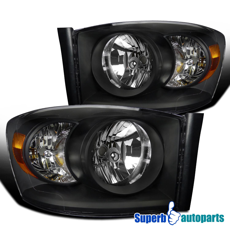 2006 2009 Dodge Ram 1500 Sinister Black 06 08 Ram 2500: Dodge 06-08 Ram 1500 06-09 Ram 2500 3500 SRT-10 Style