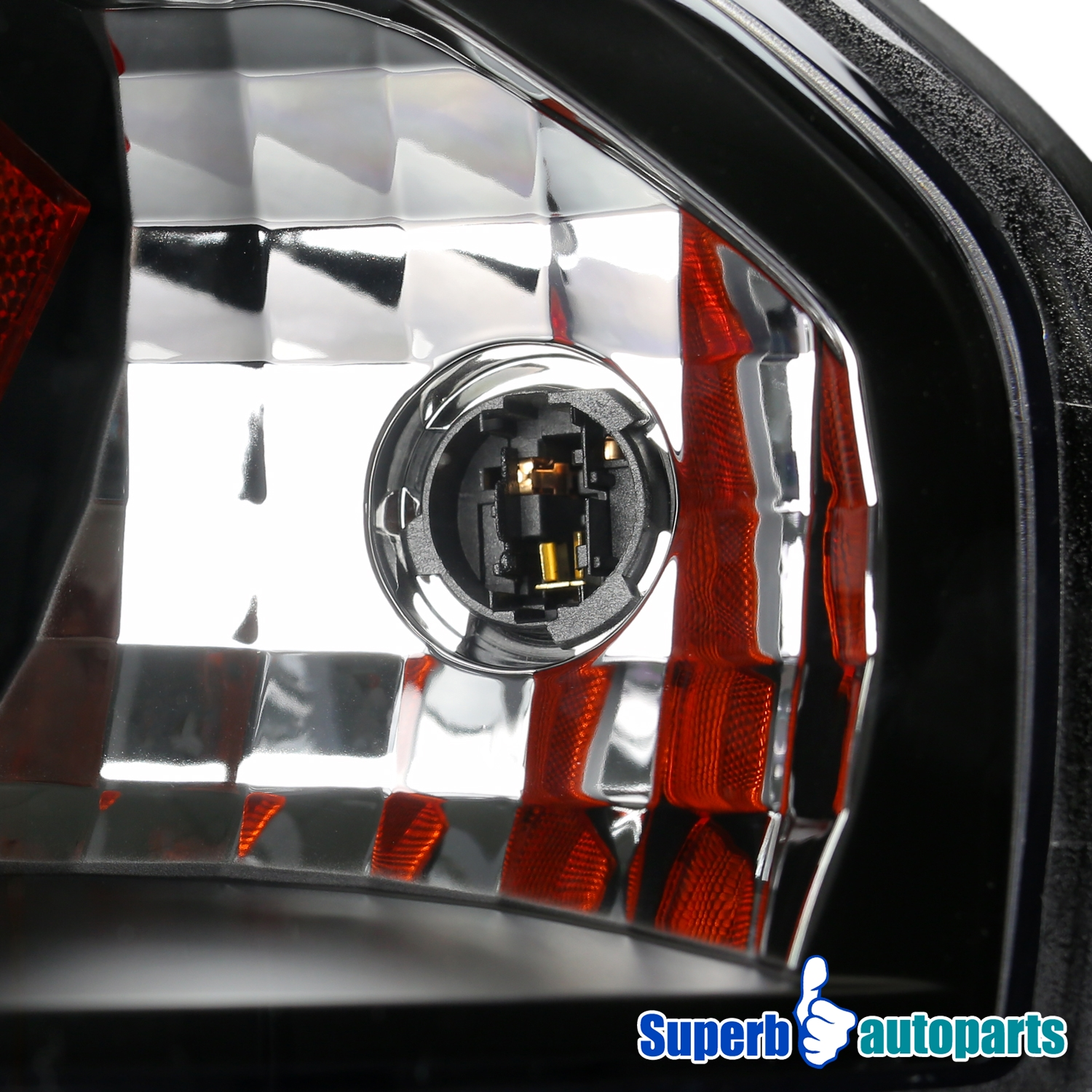 2000 2005 chevy impala jdm black clear crystal lens led. Black Bedroom Furniture Sets. Home Design Ideas