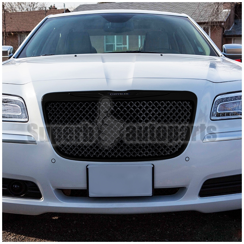 2011-2014 Chrysler 300/300C Black Mesh Honeycomb Style