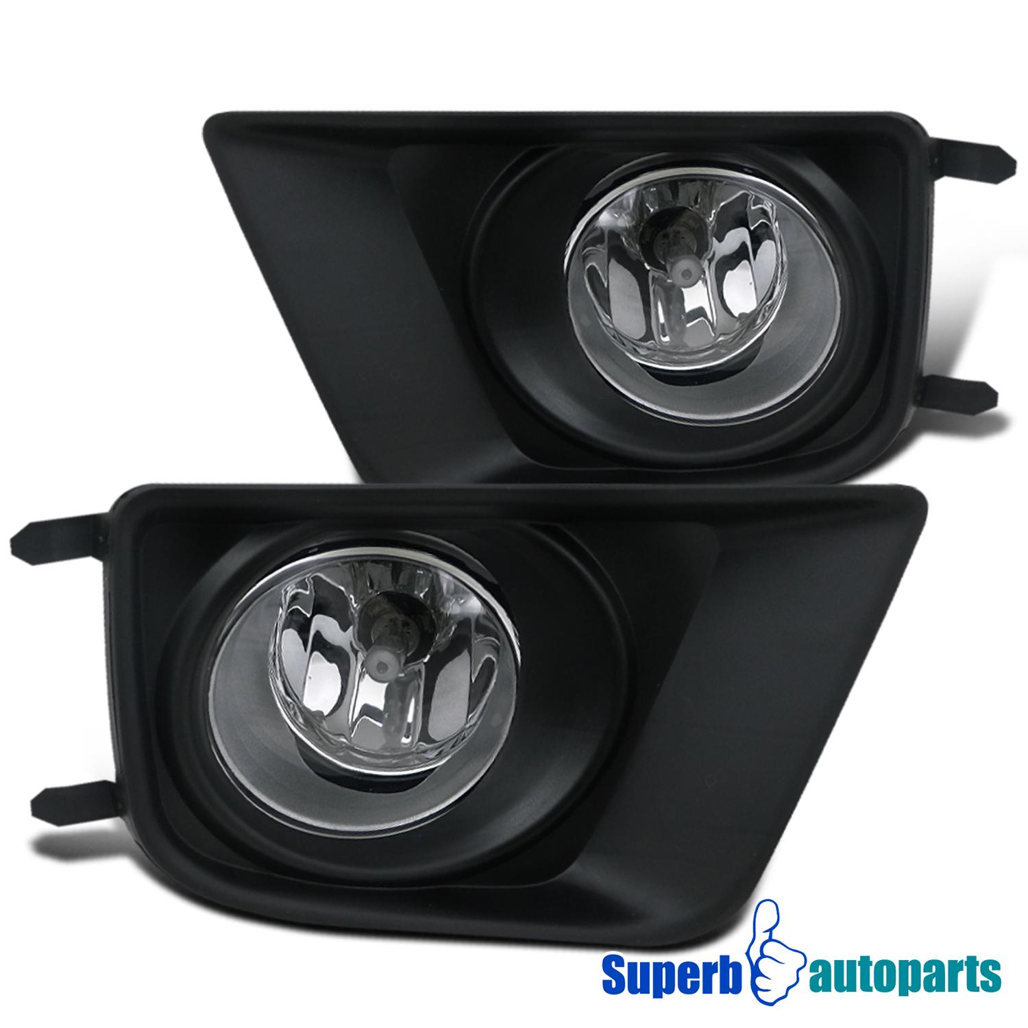2014 toyota tacoma front bumper lights driving fog lamps switch clear. Black Bedroom Furniture Sets. Home Design Ideas