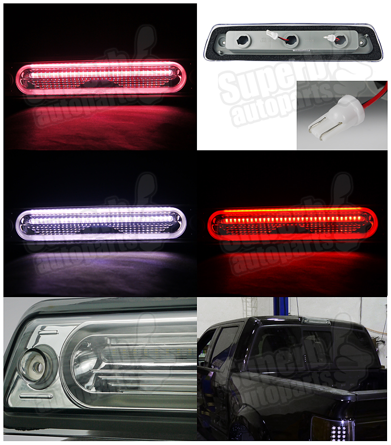 2009 2014 ford f150 full led 3rd tail brake light third. Black Bedroom Furniture Sets. Home Design Ideas