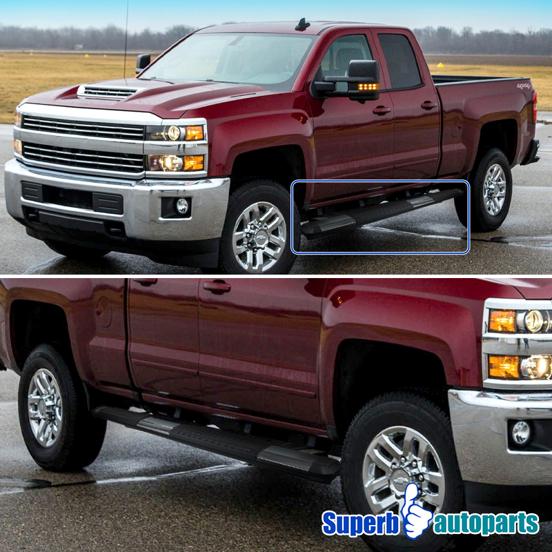 Chevy Silverado 1500 Running Boards And Nerf Bars