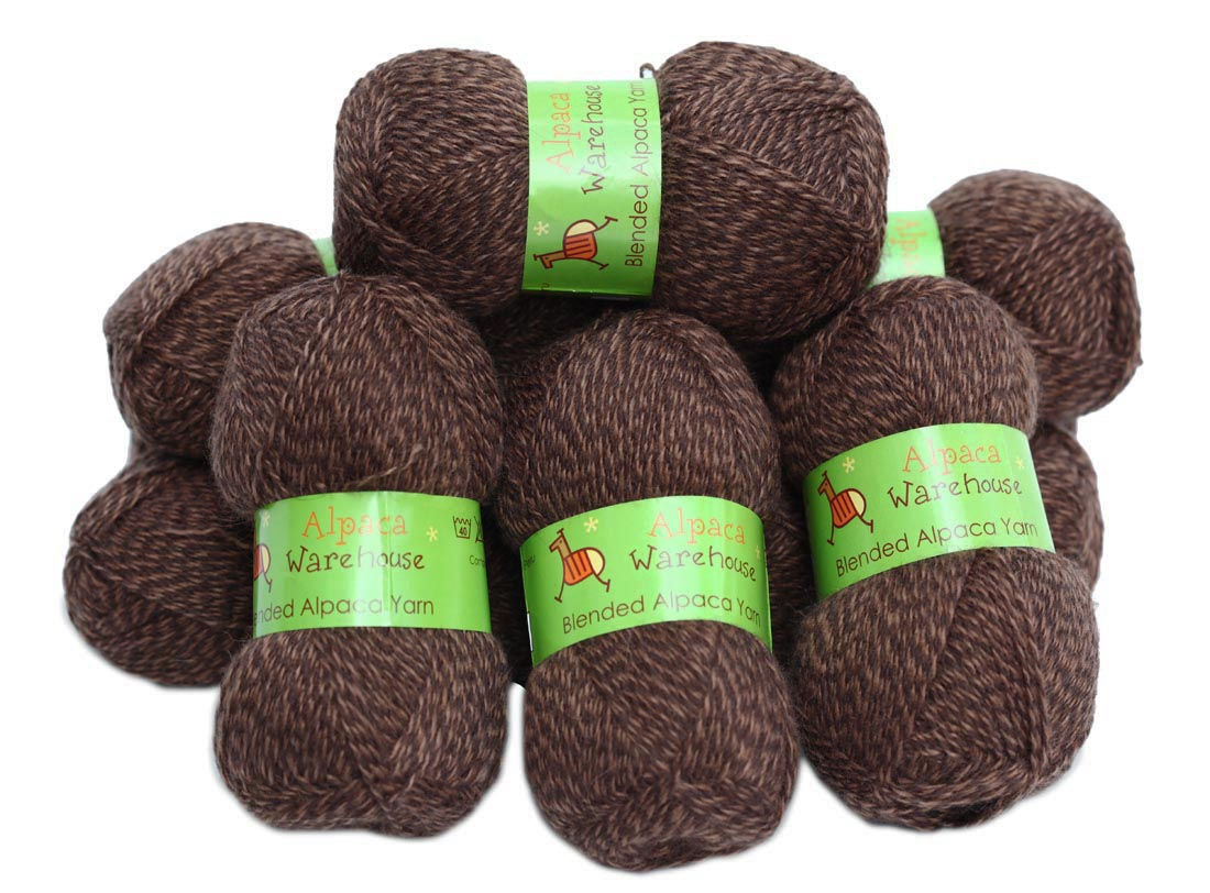 NEW Blend Alpaca Knitting Yarn Wool 10 Skei