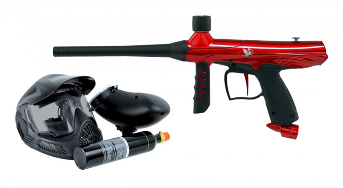 Tippmann Paintball Tippmann Gryphon Paintball Marker Gun PowerPack Set - Red at Sears.com