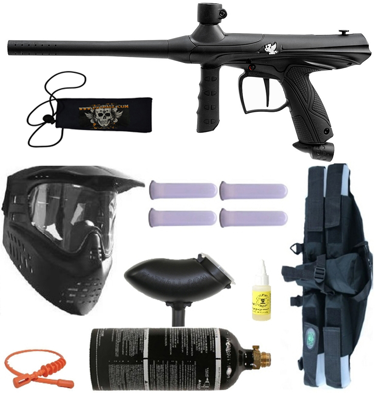 Tippmann Paintball Tippmann GRYPHON Paintball Gun 4+1 BC Mega - Black at Sears.com