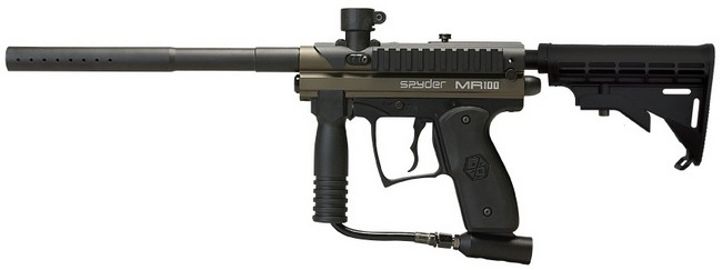 Spyder Paintball Spyder MR100 Pro Paintball Marker Gun - Olive Green at Sears.com