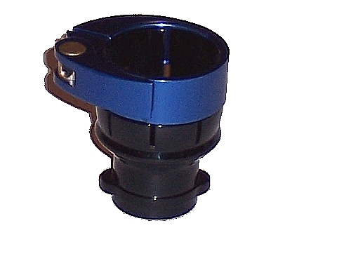 3Skull Spyder Clamping FeedNeck No Holes - Black/Blue at Sears.com