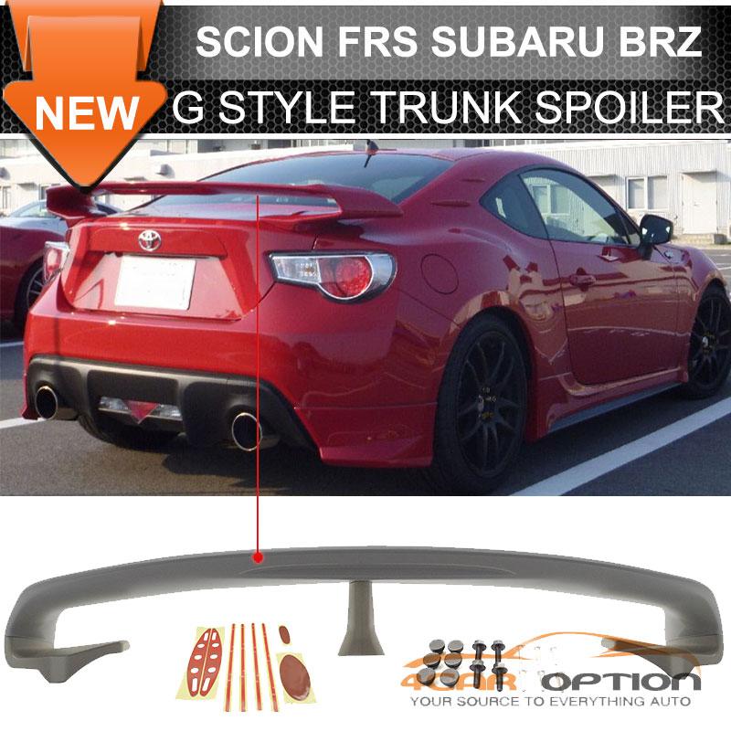 Fits 13-17 Scion FRS / Subaru BRZ GTR Style Rear Trunk