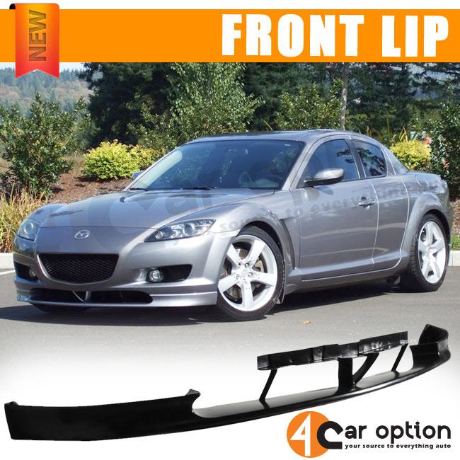 2008 Mazda6 4 Door Oem Style Spoiler: 04-07 MAZDA RX8 OE STYLE FRONT BUMPER LIP SPOILER