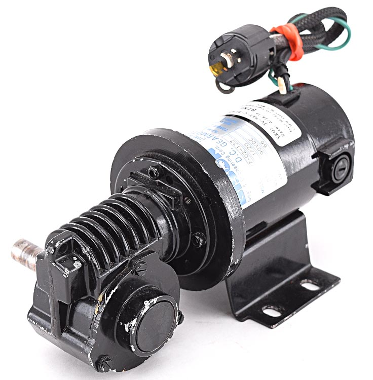 Bison 507 02 133 Right Angle Dc Gear Motor 1 20hp 33rpm 60