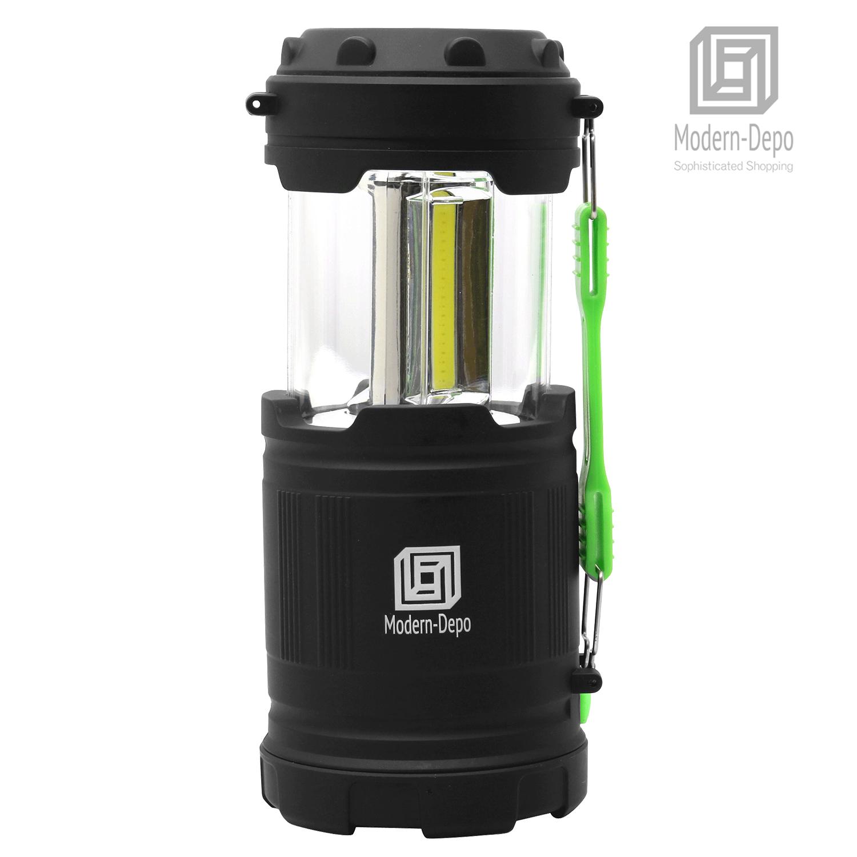 Portable COB LED Camping Lantern 300// 350 Lumens Collapsible Flashlights