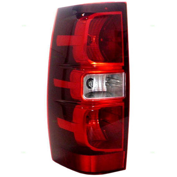 New Drivers Taillight Taillamp Housing SAE DOT 07-10 Chevrolet Suburban Tahoe