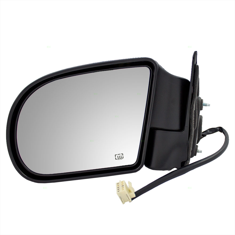 Service manual replace 1999 chevrolet s10 sideview mirror for Mirror please